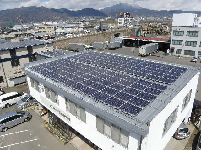 「太陽光パネル 工場の屋上」の画像検索結果
